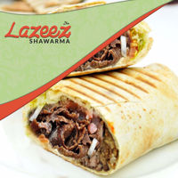 """Picture of 12"""" Beef Gyro Donair Wrap"""