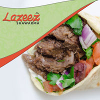 """Picture of 12"""" Beef Shawarma Wrap"""