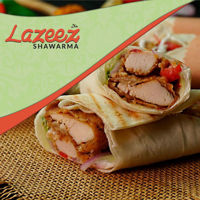 """Picture of 12"""" Shish Tawook Wrap"""