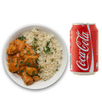 Picture of Butter Chicken with Rice and Pop